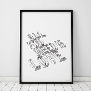 Original signed Drawing of All you Need is Love