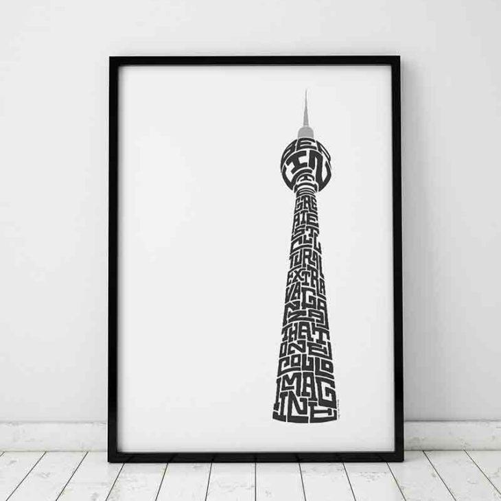 Berlin TV Tower Print