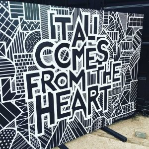 Hatch MCR Hand-painted Wall Mural Commission By Sketchbook Design