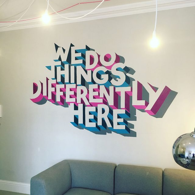 Iceni Projects Manchester Office Mural Artwork by Sketchbook Design