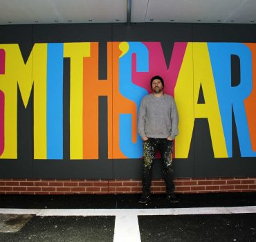 Michael Wylie Artist - Smiths Yard Ancoats Wall Murals Commission By Sketchbook Design