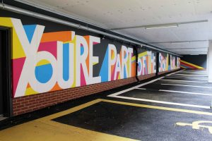 Youre Part of the Story Round Here - Smiths Yard Ancoats Mural Commission By Sketchbook Design