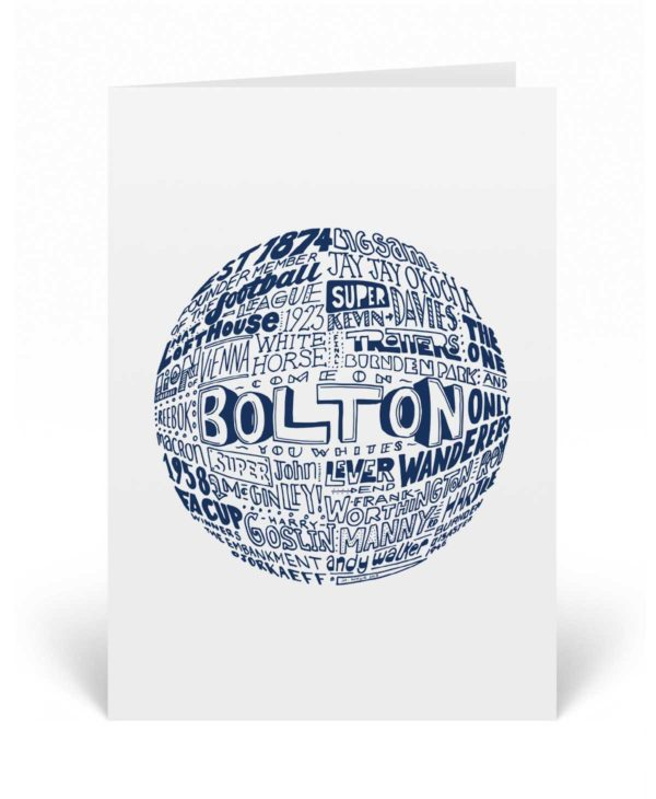Bolton Wanderers Birthday Card