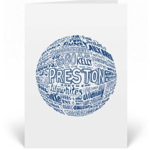 Preston North End Birthday Card