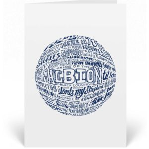 West Brom birthday card