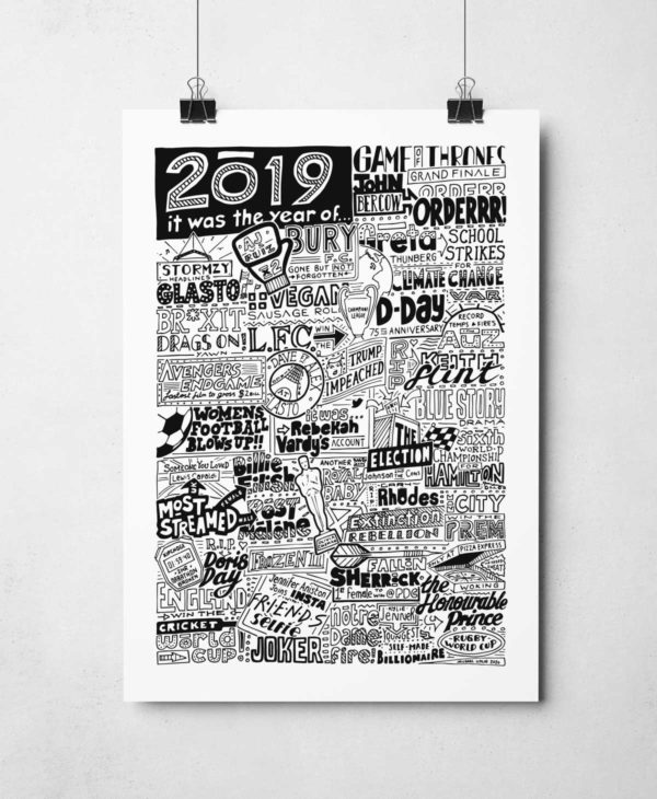 2019 Iconic Moments Print Limited Edition of 25 Signed and numbered