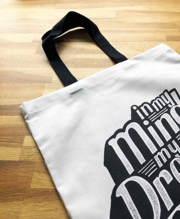 In My Mind Tote Bag from Sketchbook Design