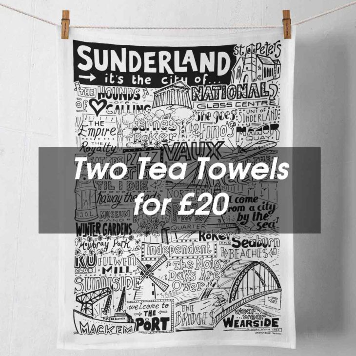 Tea Towel Deal from Sketchbook Design