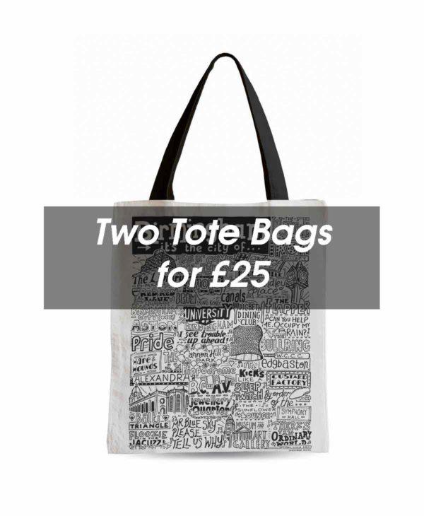 Tote Bag Deal from Sketchbook Design