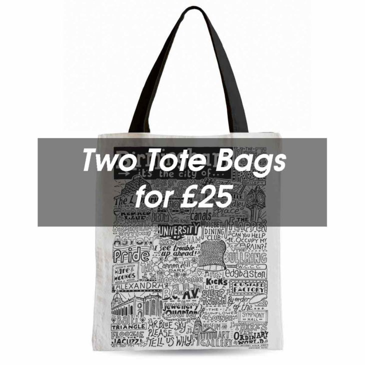 Tote Bag Deal from Sketchbook Design