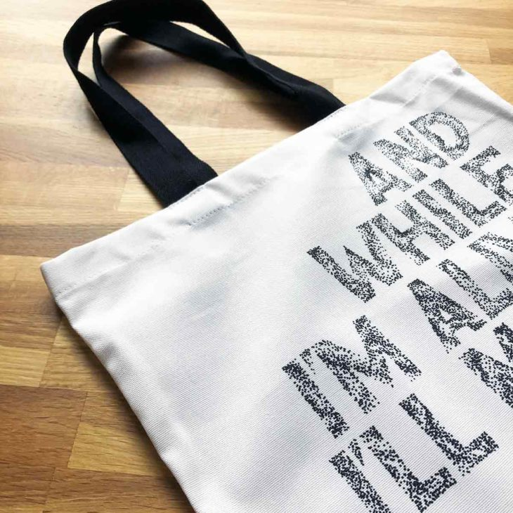 Tiny Changes Tote Bag