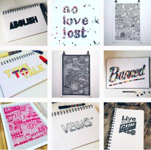 Sketchbook Design Instagram Posts