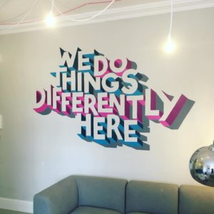 Personalised Wall Mural