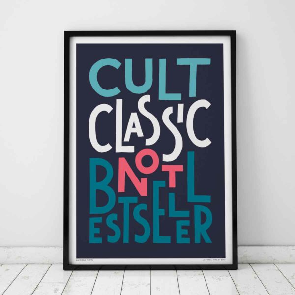 Cult Classic Print | Music Prints and Song Lyric Prints From Sketchbook Design