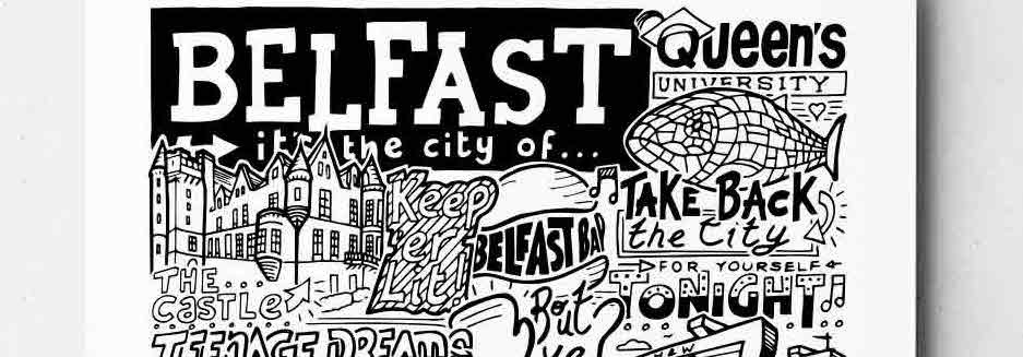 Belfast City Print