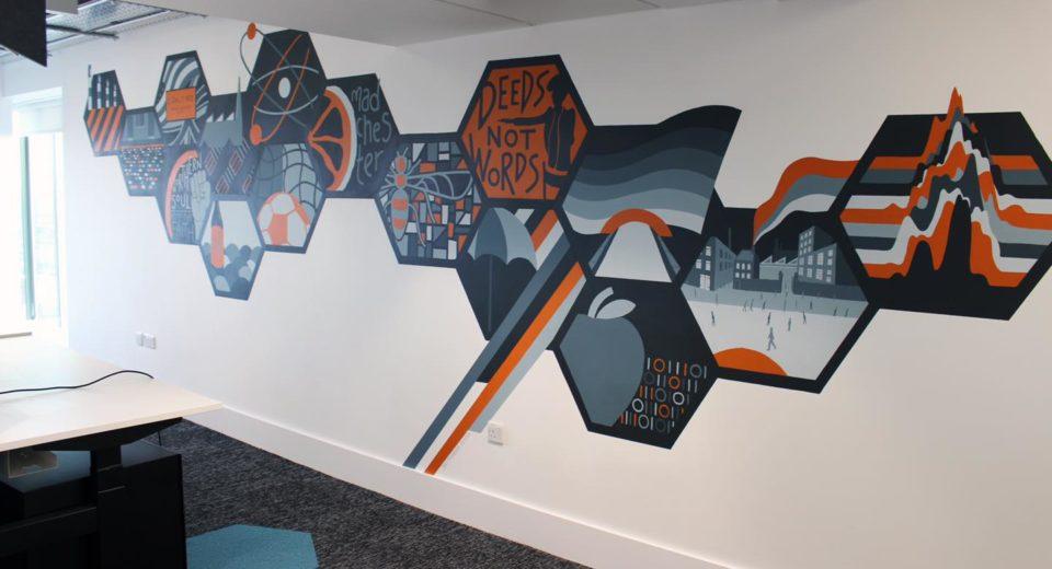 Manchester Wall Mural