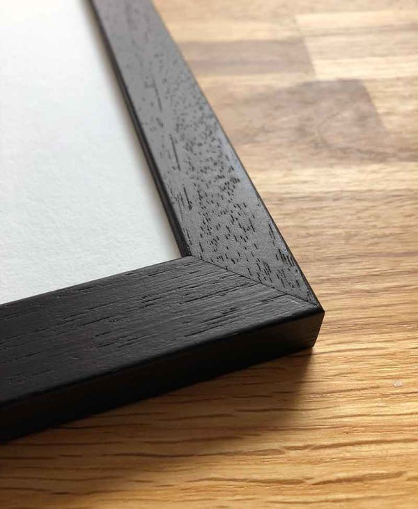 Sketchbook Design solid wood black frames