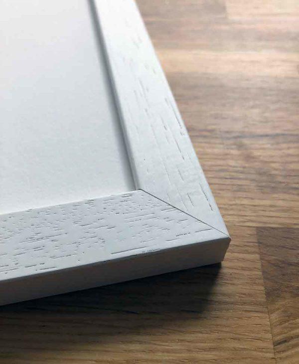 Sketchbook Design solid wood white frames