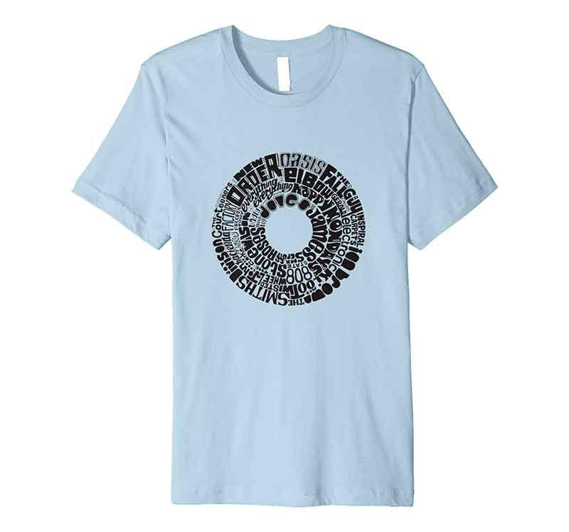 Manchester Music Band T-shirt