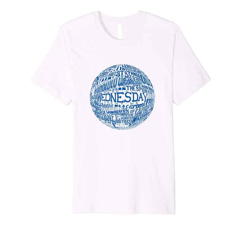 Sheffield Wednesday Football T-shirt by Sketchbook Design