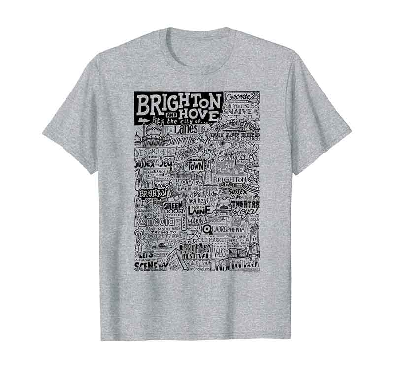 Brighton Landmarks T-shirt